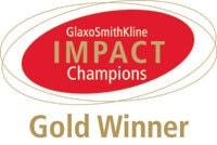 GlaxoSmithKline Impact Champions Gold Winner