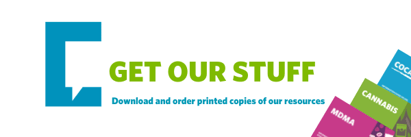 get our stuff graphic with leaflets